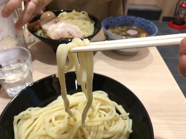 頑者製麺所 麺アップ