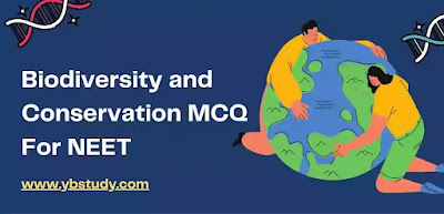 MCQ on Biodiversity and Conservation Class 12