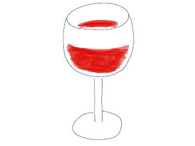 アイコン 「ワイン」 (作: 塚原 美樹)