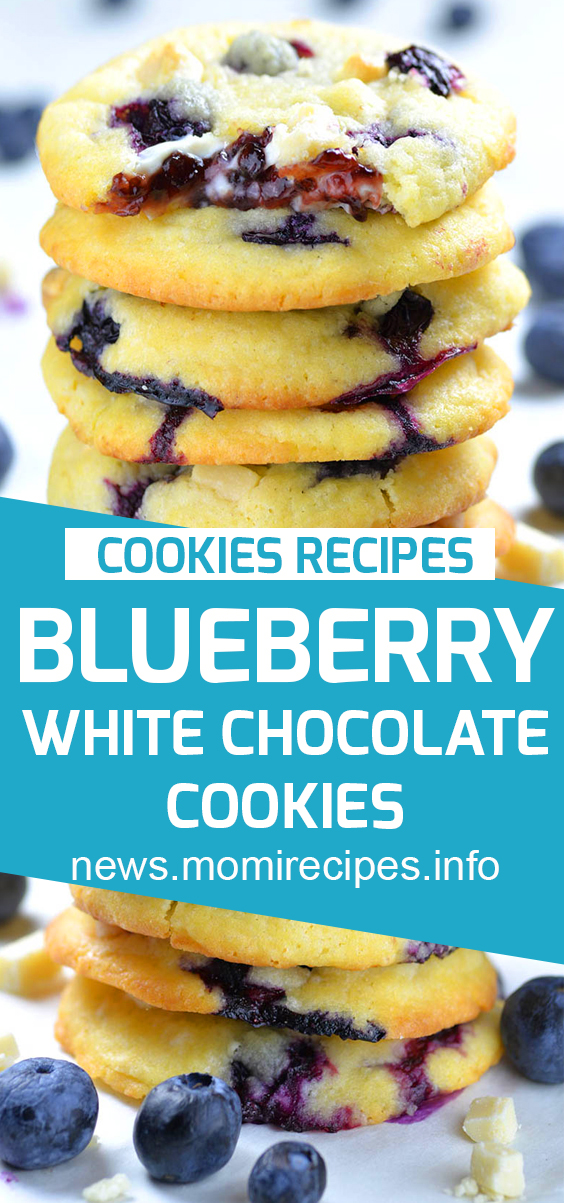 Blueberry white chocolate cookies | Cookie Recipes Chocolate Chip, Cookie Recipes Easy, Cookie Recipes Christmas, Cookie Recipes Keto, Cookie Recipes From Scratch, Cookie Recipes Sugar, Cookie Recipes Peanut Butter, Cookie Recipes Best, Cookie Recipes Unique, Cookie Recipes Snickerdoodle, Cookie Recipes Oatmeal, Cookie Recipes Healthy, Cookie Recipes With Cake Mix, Cookie Recipes Lemon. #blueberrycookies #cookiesrecipe #blueberrywhitechocolate.