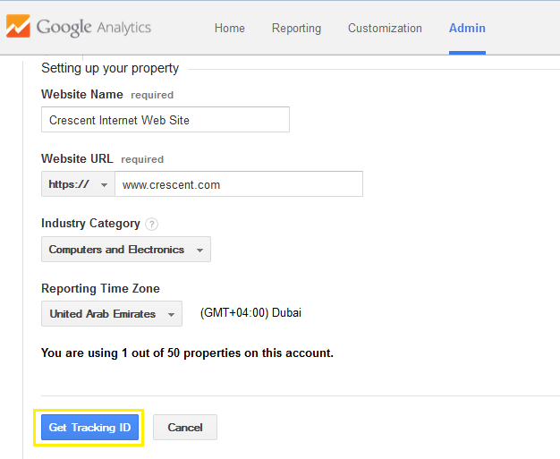 google analytics sharepoint integration
