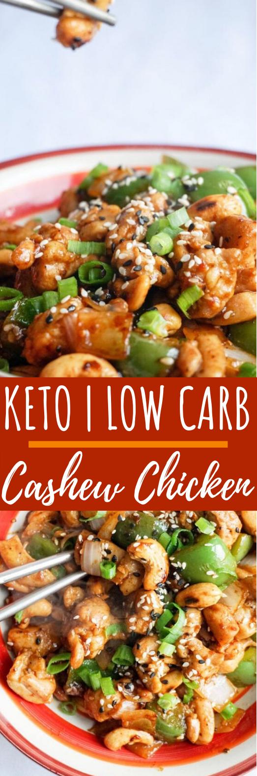 Easy Cashew Chicken #lowcarb #dinner #keto #chicken #diet