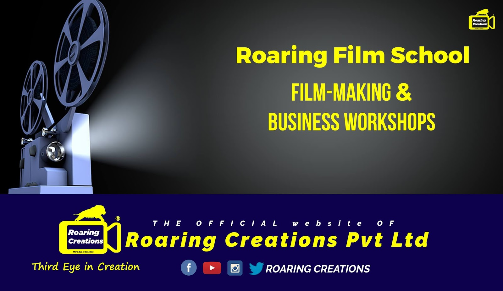 Services of Roaring Creations Private Limited