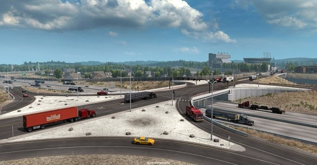 American Truck Simulator Gameplay Screenshots