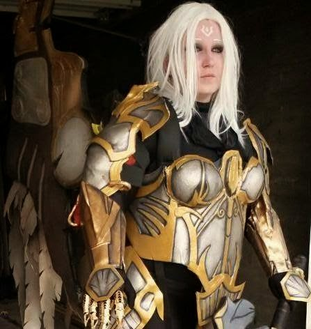 Maiden America Cosplay - Lord Of The Rings