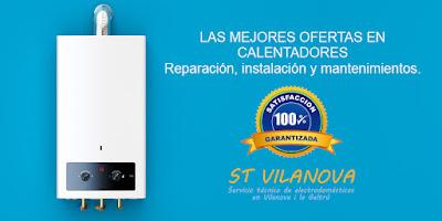 Servicio técnico de Calentadores de gas en Sitges SAT