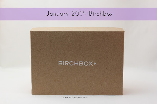 January 2014 Birchbox & Giveaway