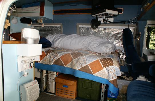 The Tuckerbag Sleeping Spaces