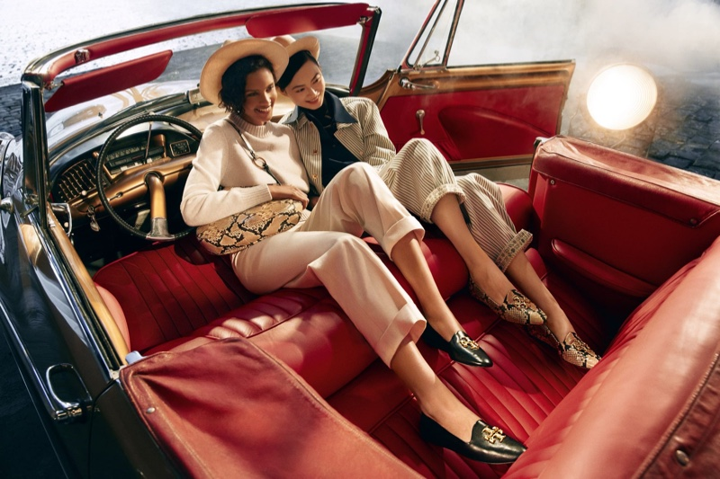 Tory Burch sets fall-winter 2021 campaign in New York City.