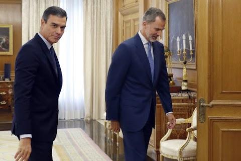A spanyol király nem kérte fel kormányalakításra Pedro Sánchez ügyvezető miniszterelnököt