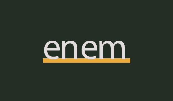 Prova ENEM 2020 (2º Dia) com Gabarito e Resolução