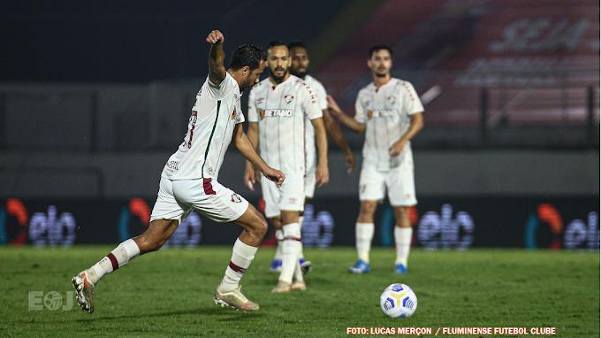 "Atleta jundiaiense chega ao quarto gol de falta pelo Fluminense: ""Muito treino"""