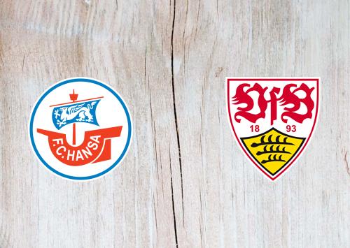 Hansa Rostock vs Stuttgart -Highlights 12 August 2019