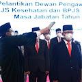 Presiden Jokowi Lantik Dirut BPJS Kesehatan