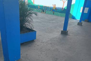 Pintura de Parque Escolar