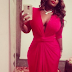 BEAUTY: Toolz Shows Off Curvy Figure In Sexy Wrap Dress !