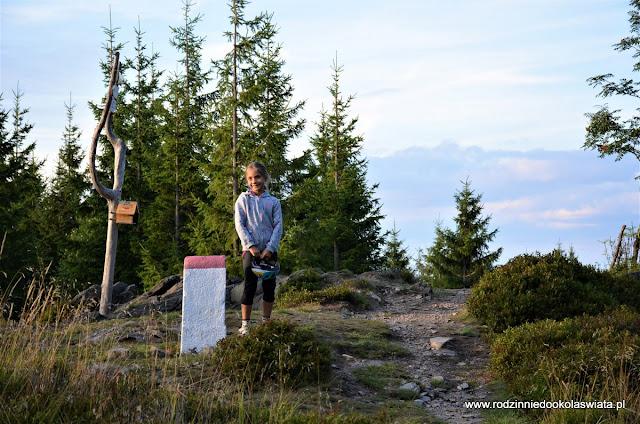 Sudety z dziećmi- Kowadło Góry Złote (Korona Gór Polski)