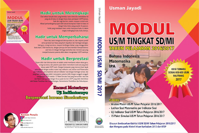 Buku dan Ebook Modul US/M Sesuai Kisi-kisi Balitbang 2017