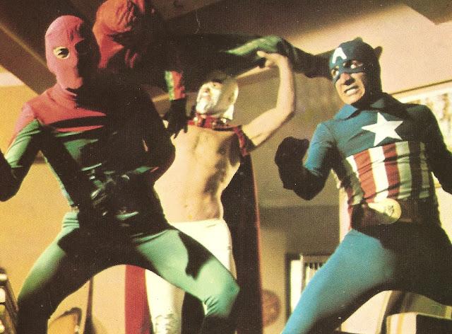 3 Dev Adam, Captain America Turkish movie