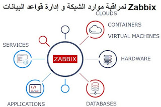 Zabbix لمراقبة موارد الشبكة و إدارة قواعد البيانات