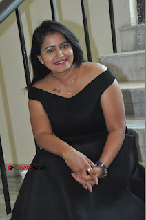 Telugu Actress Swathi Reddy Latest Stills in Black Gown  0082.JPG
