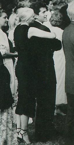 Cbk Wardrobe Rubin Amanpour Wedding In Italy 1998