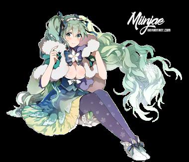 Render: Miku Hatsune 4 by MiinJae