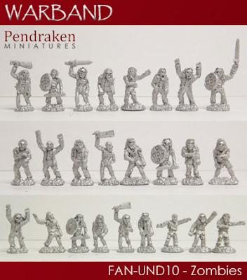 FAN-UND10 - 25 x Zombies