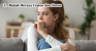 Mudah Merasa Cemas dan Stress akibat sering rebahan