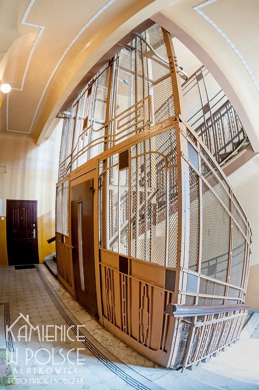 Łódź: przedwojenna winda