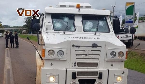 Assaltantes levam mais de R$ 1,2 milhão de carro-forte no Paraguai