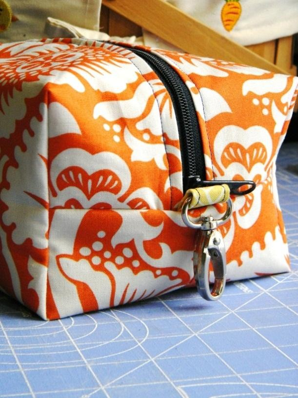 Boxie Pouch Tutorial. Step-by-step sew instructions