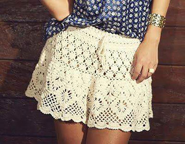 вязаная юбка для девочки спицами схемы и описание