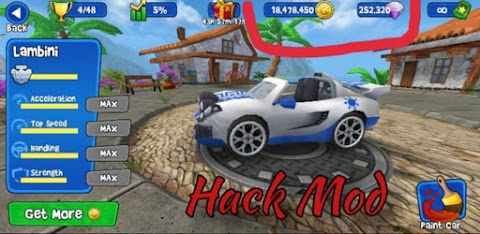 Beach buggy Racing hack Mod with unlimited money Modified Apk file download link and review