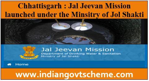 Jal Jeevan Mission in Chhattisgarh