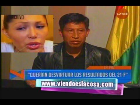 PERIODISTA DE BOLIVIA TV HABRÍA ELABORADO LA ENTREVISTA EXCLUSIVA A GABRIELA ZAPATA