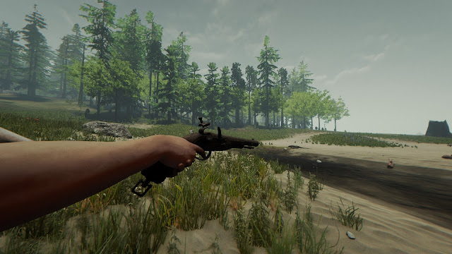 hướng dẫn tìm 8 mảnh ghép súng đạn chì flintlock pistol trong the forest