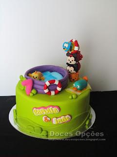 Bolo de aniversário Disney Tsum Tsum