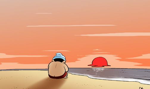 Kim Chi & Củ Cải (bộ mới) phần 304: Trâu chậm uống nước đục
