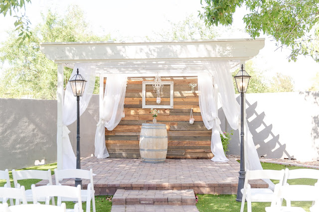 The Cottage Wedding Ceremony space by Micah Carling Photography