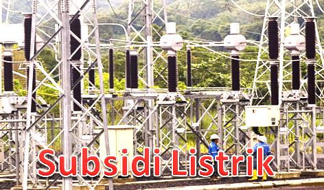Pengertian Subsidi Listrik