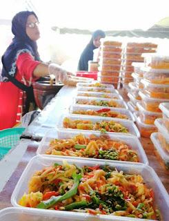 vendor somtam betik popular bazar ramadan kota bharu