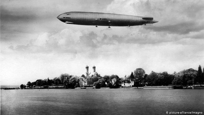 Londres bombardeada por dirigíveis