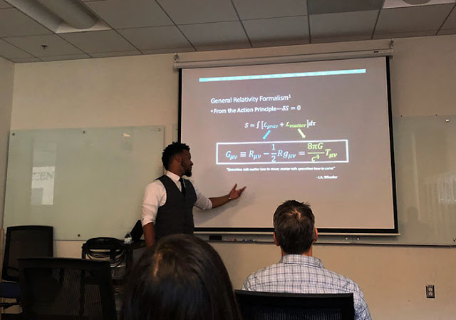 "CSULB Masters candidate, Bryen defends "" Relativistic Tidal Deformations of Hybrid Stars"""