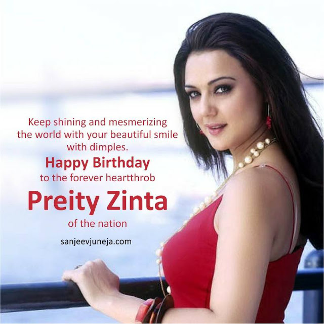 Happy Birthday Real Preity Zinta