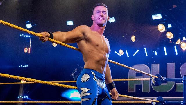 Austin Theory teria sido suspenso pela WWE