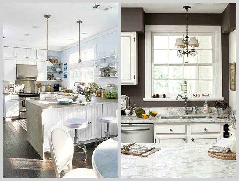 Coastal cottage kitchens with style