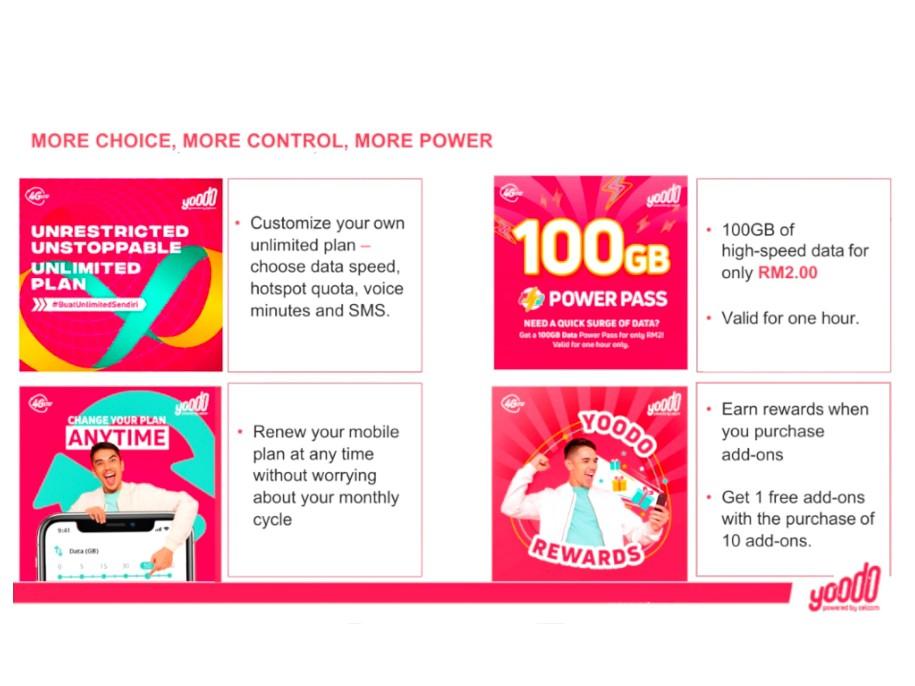 Jom Buat Unlimited Plan Sendiri Dengan YooDo