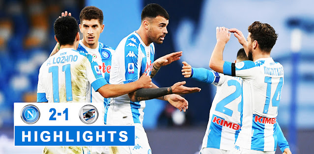 Napoli vs Sampdoria – Highlights