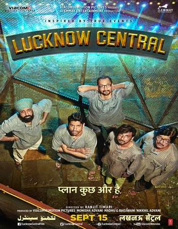 Lucknow Central 2017 Hindi 200MB HDRip HEVC 480p ESubs